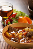 Hungarian goulash still-life — Stock Photo