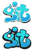 Graffiti vector design — Stock Vector