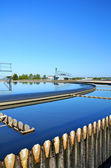 Modern urban wastewater treatment plant. — Foto Stock