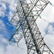 High voltage AC transmission tower. — Stock Photo #11827524