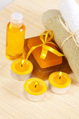 Accessories for spa therapy — Stock Photo