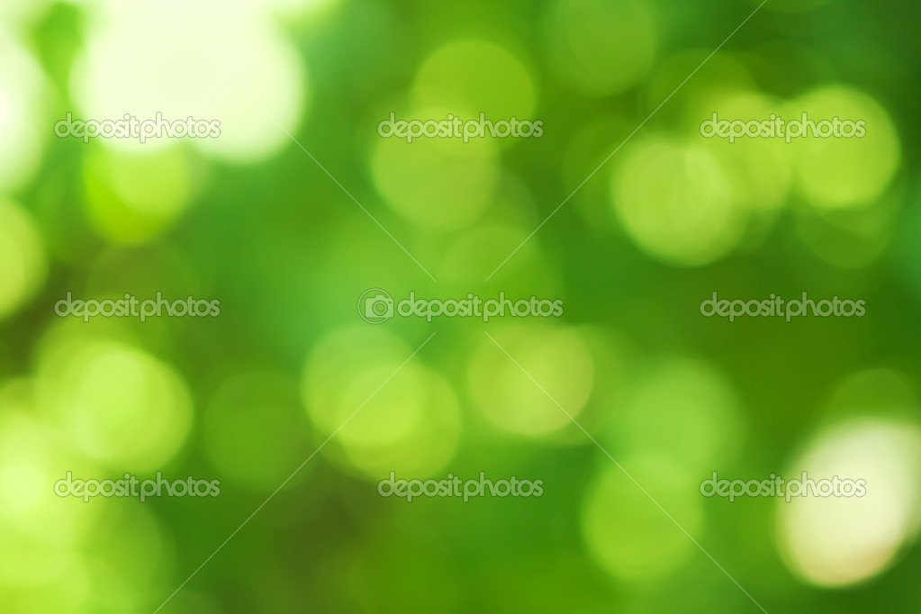 Blurred spring natural background in green colors — Stock Photo #11317277