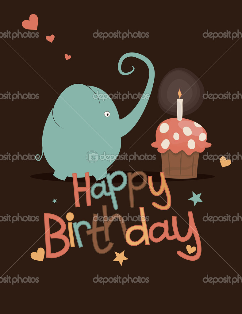 Cute happy birthday card Vector nnfotograf 11589859 – Nice Happy Birthday Cards