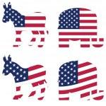 American political symbols — Stock Vector #11224978