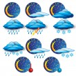 The Weather Report - Stock Vector