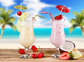 Summer drinks — Foto Stock