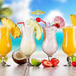 Постер, плакат: Summer drinks