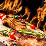 Beef steak — Stock Photo #11057638