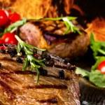 Beef steak — Stock Photo #11057706