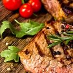 Beef steak — Stock Photo #11057708