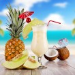 Exotic cocktails — Stock Photo #11088059