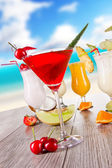 Bebidas de verão — Foto Stock