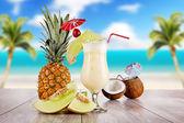 Cocktails exóticos — Foto Stock