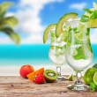 Mojito drinks — Stock Photo