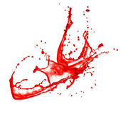 Blood splash — Stock Photo