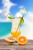 Summer cocktail — Foto Stock
