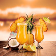 Exotic cocktails — Stock Photo #11480694