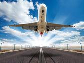 Avião a jato — Foto Stock