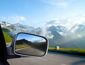 Car mirror — Stock Photo