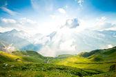 Paisaje alpino — Foto de Stock