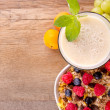Healthy breakfast — Stock Photo #11797111
