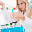 Laboratory assistant — Stock Photo #11861484