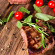Fresh steaks - Stock Photo