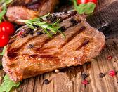 Fresh steaks — Stock Photo