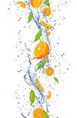 čerstvé pomeranče — Stock fotografie