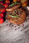 Beef steaks — Stock Photo