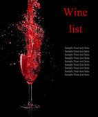Wine theme — Stock Photo