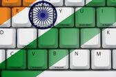 интернет в индии — Стоковое фото