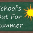 Stock Photo: Schools Out for Summer