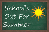 Schools Out for Summer — Stock Photo