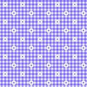 紫色方格布式织物背景 — 图库照片