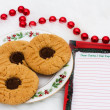 Stock Photo: A Plate of Cookies