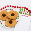 A Plate of Cookies — Stock Photo