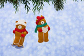 Winter Bears — Stock Photo