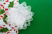 White Organza Bow — Stock Photo
