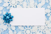 Blank Gift Tag — Stock Photo