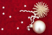 Silver Ornaments — Stock Photo