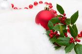 Christmas balls — Stock Photo