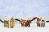 пряничные домики — Стоковое фото