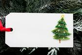 Gift tag — Stock Photo
