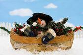 Snowman — Foto de Stock