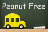 Schools that are peanut free — Stock Photo