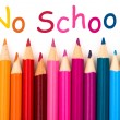 No School — Stock Photo
