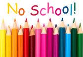 No School — Stock Photo