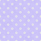 Pale Purple Fabric with Flowers Background — Stock Photo