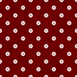 Stock Photo: Burgundy Flower Fabric Background